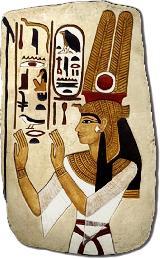 Мастер-класс Роспись египетского рельефа