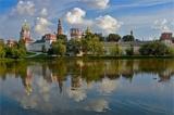 Субботник в парке «Новодевичьи пруды»