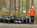 Экологическая акция «7 минут ради природы» в Екатерингофском парке