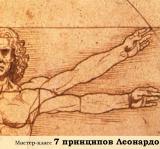 7 принципов Леонардо
