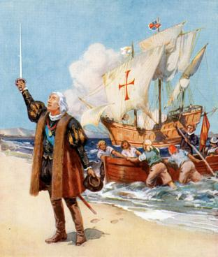 Христофор Колум: Великие географические открытия: занятия с детьми
