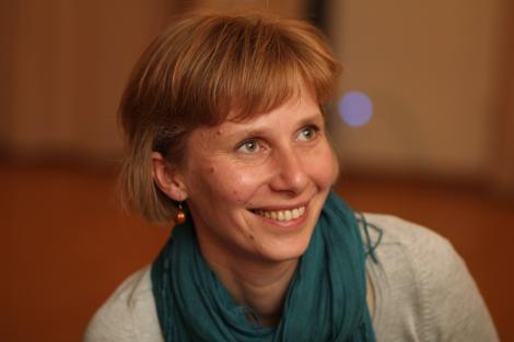 Ведущая музыкального вечера — преподаватель культурного центра и философской школы «Новый Акрополь» Юлия Морозова